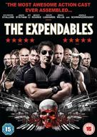 The Expendables - British DVD movie cover (xs thumbnail)