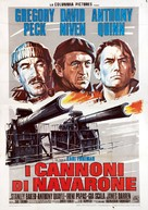 The Guns of Navarone - Italian Movie Poster (xs thumbnail)