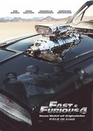 Fast & Furious - German Movie Poster (xs thumbnail)