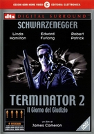 Terminator 2: Judgment Day - Italian DVD cover (xs thumbnail)