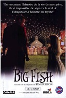 Big Fish - French Movie Poster (xs thumbnail)