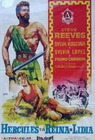 Ercole e la regina di Lidia - Spanish Movie Poster (xs thumbnail)