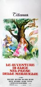 Alice's Adventures in Wonderland - Italian Movie Poster (xs thumbnail)