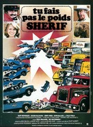 Smokey and the Bandit II - French Movie Poster (xs thumbnail)