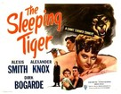 The Sleeping Tiger - Movie Poster (xs thumbnail)
