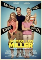 We're the Millers - Spanish Movie Poster (xs thumbnail)