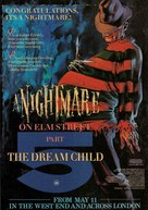 A Nightmare on Elm Street: The Dream Child - British Movie Poster (xs thumbnail)