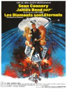 Diamonds Are Forever - French Movie Poster (xs thumbnail)