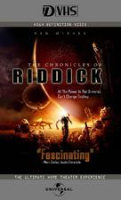 The Chronicles of Riddick - VHS movie cover (xs thumbnail)