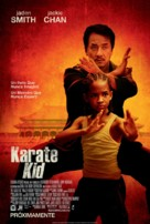The Karate Kid - Mexican Movie Poster (xs thumbnail)