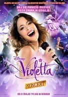 Violetta: La emoción del concierto - Polish Movie Poster (xs thumbnail)