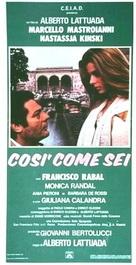 Così come sei - Italian Movie Poster (xs thumbnail)