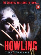 Howling VI: The Freaks - British Movie Cover (xs thumbnail)