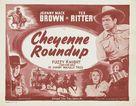 Cheyenne Roundup - Re-release poster (xs thumbnail)