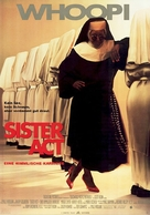 Sister Act - German Movie Poster (xs thumbnail)
