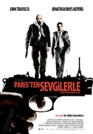 From Paris with Love - Turkish Movie Poster (xs thumbnail)