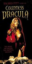 Countess Dracula - VHS movie cover (xs thumbnail)
