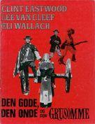 Il buono, il brutto, il cattivo - Danish DVD cover (xs thumbnail)