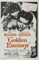 Golden Earrings - Movie Poster (xs thumbnail)