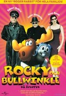 The Adventures of Rocky & Bullwinkle - Swedish Movie Cover (xs thumbnail)