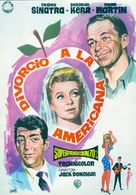 Marriage on the Rocks - Spanish Movie Poster (xs thumbnail)