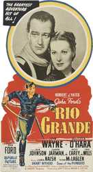 Rio Grande - Theatrical poster (xs thumbnail)