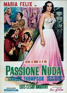 Pasión desnuda, La - Italian Movie Poster (xs thumbnail)