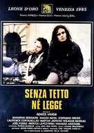 Sans toit ni loi - Italian Movie Poster (xs thumbnail)