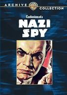 Confessions of a Nazi Spy - DVD cover (xs thumbnail)