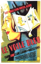 Le voile bleu - French Movie Poster (xs thumbnail)