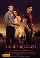 The Twilight Saga: Breaking Dawn - Part 1 - Australian Movie Poster (xs thumbnail)