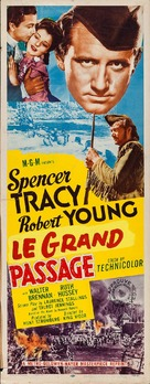 Northwest Passage - French Movie Poster (xs thumbnail)