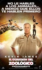 The Zookeeper - Mexican Movie Poster (xs thumbnail)