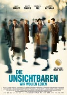 Die Unsichtbaren - German Movie Poster (xs thumbnail)