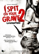 I Spit on Your Grave 2 - German DVD cover (xs thumbnail)