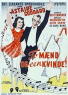 Second Chorus - Danish Movie Poster (xs thumbnail)