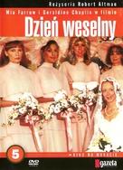 A Wedding - Polish DVD movie cover (xs thumbnail)