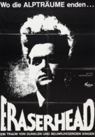 Eraserhead - German Movie Poster (xs thumbnail)