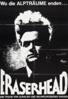 Eraserhead - German Movie Poster (xs thumbnail)