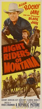 Night Riders of Montana - Movie Poster (xs thumbnail)