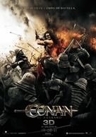Conan the Barbarian - Spanish Movie Poster (xs thumbnail)