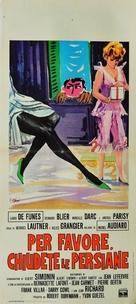 Les bons vivants - Italian Movie Poster (xs thumbnail)