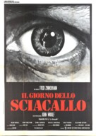 The Day of the Jackal - Italian Movie Poster (xs thumbnail)