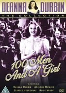 One Hundred Men and a Girl - British DVD movie cover (xs thumbnail)