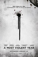 A Most Violent Year - British Movie Poster (xs thumbnail)