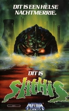Spawn of the Slithis - Dutch VHS movie cover (xs thumbnail)