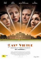 Easy Virtue - Australian Theatrical movie poster (xs thumbnail)