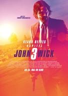 John Wick: Chapter 3 - Parabellum - German Movie Poster (xs thumbnail)