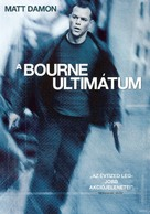 The Bourne Ultimatum - Hungarian DVD cover (xs thumbnail)