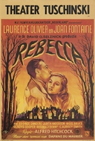 Rebecca - Dutch Movie Poster (xs thumbnail)